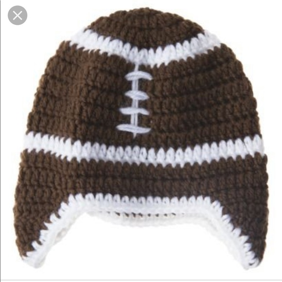 Sodorable Accessories Crocheted Football Hat Size 06 Poshmark